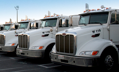 Full-Service Transportation Brokerage Company | Frontline Logistics INC. - trucks